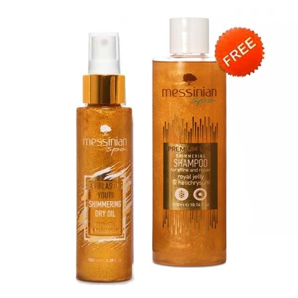 Body Care Messinian Spa Dry Oil Royal Jelly FREE Shampoo (Full Size)