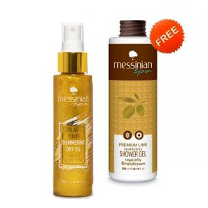 Περιποίηση Σώματος Messinian Spa Dry Oil Royal Jelly FREE Shower Gel (Full Size)