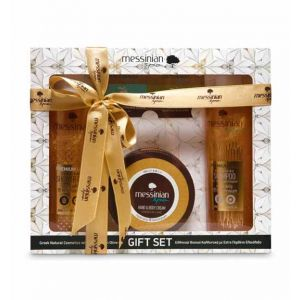 Body Care Messinian Spa Premium Gift Set Royal Jelly & Helichrysum