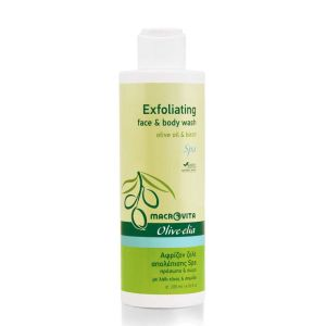 Body Care Macrovita Olivelia Exfoliating Face & Body Wash SPA