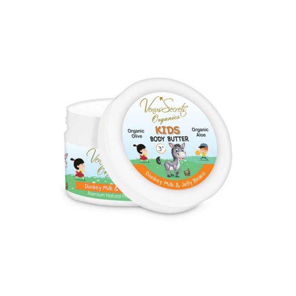 Babies & Kids Care Venus Secrets Kids Body Butter Donkey Milk & Jelly Bean