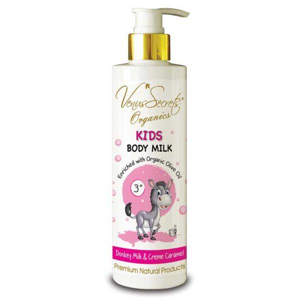 Babies & Kids Care Venus Secrets Kids Body Milk Donkey Milk & Creme Caramel