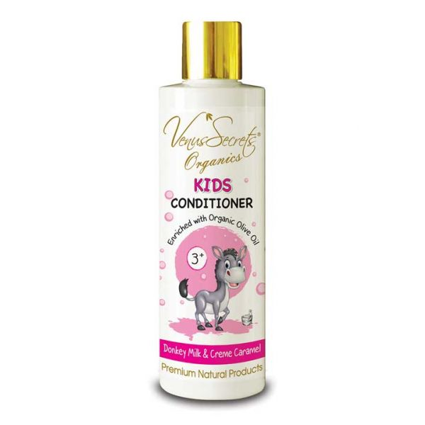Babies & Kids Care Venus Secrets Kids Conditioner Donkey Milk & Creme Caramel