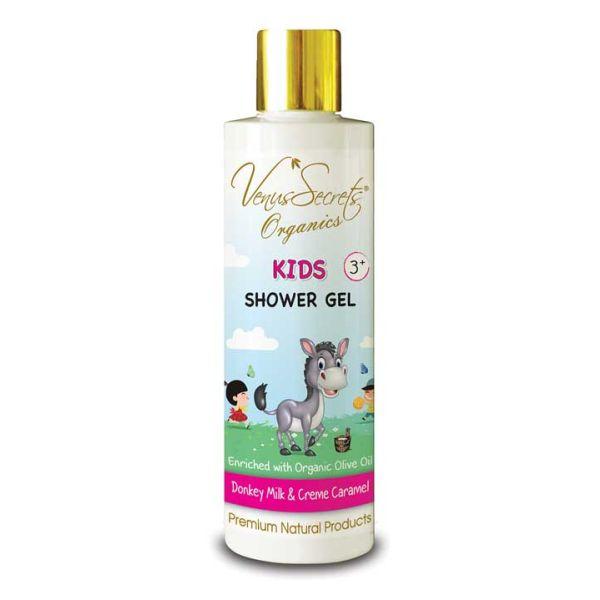 Babies & Kids Care Venus Secrets Kids Shower Gel Donkey Milk & Creme Caramel