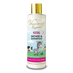 Φροντίδα για Μωρά & Παιδιά Venus Secrets Kids Shower & Shampoo Donkey Milk & Creme Caramel