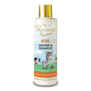 Φροντίδα για Μωρά & Παιδιά Venus Secrets Kids Shower & Shampoo Donkey Milk & Jelly Beans