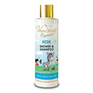 Babies & Kids Care Venus Secrets Kids Shower & Shampoo Donkey Milk & Sweet Talc