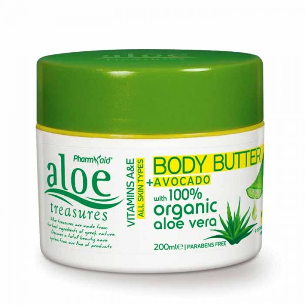 Body Butter Aloe Treasures Body Butter Avocado