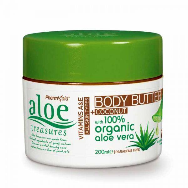 Body Butter Aloe Treasures Body Butter Coconut