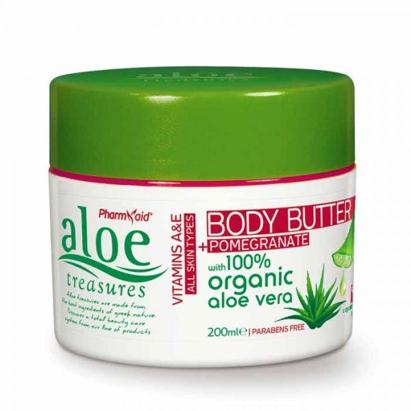 Body Butter Aloe Treasures Body Butter Pomegranate