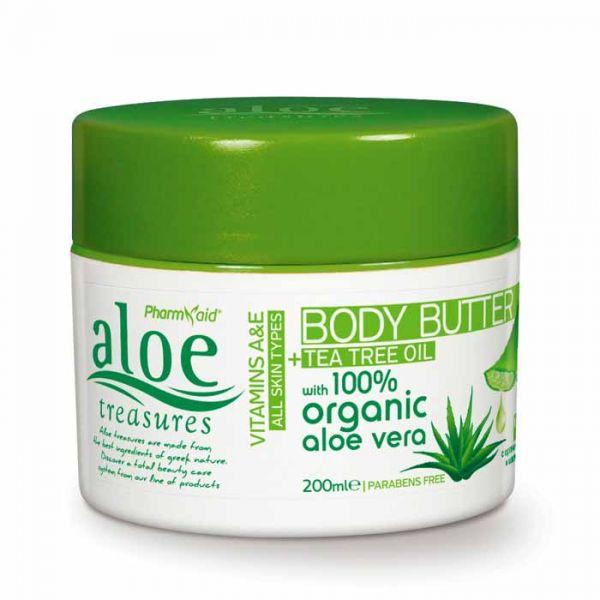 Body Butter Aloe Treasures Body Butter Tea Tree Oil