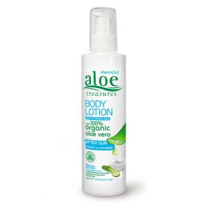 After Sun Care Aloe Treasures Body Lotion After Sun Jogurt & Cucumber
