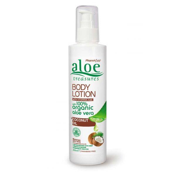 Body Care Aloe Treasures Body Lotion Coconut