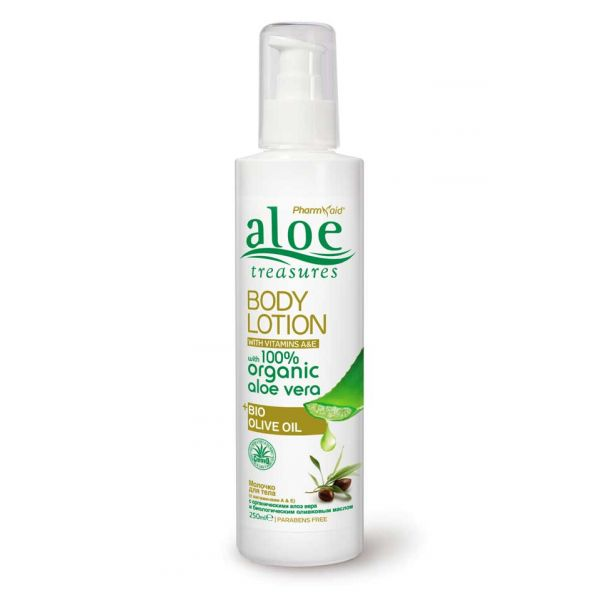 Body Care Aloe Treasures Body Lotion Olive Oil