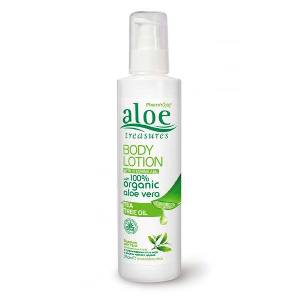 Body Care Aloe Treasures Body Lotion Tea Tree Oil