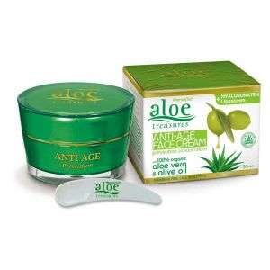 Face Care Aloe Treasures Anti Age Face Cream Prevention 24Hours