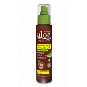 Hair Care Aloe Treasures Hair Treatment Argan Oil