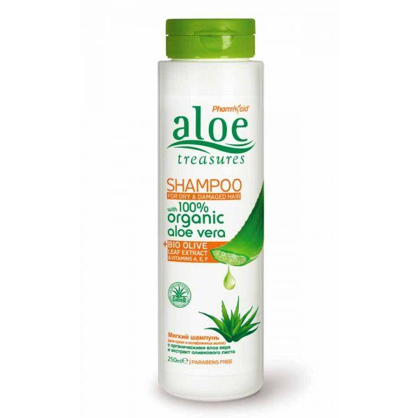 Hair Care Aloe Treasures Shampoo for Dry & Damaged Hair