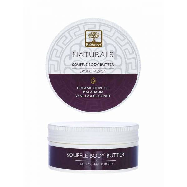Body Butter Bioselect Naturals Souffle Body Butter Exotic Passion