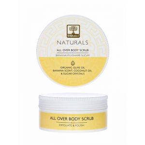 Body Care Bioselect Naturals All Over Body Sugar Scrub Banana Milkshake