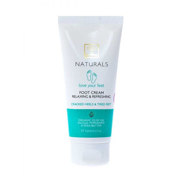 Foot Cream Bioselect Naturals Foot Cream Relaxing & Refreshing