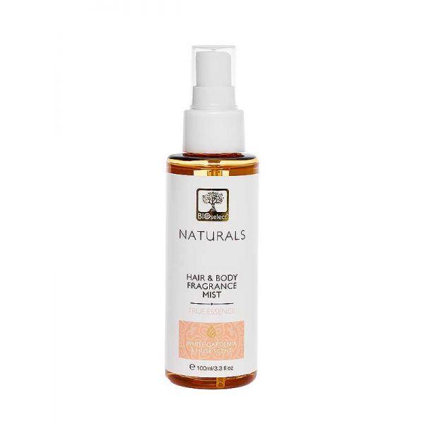 Body Mist Bioselect Naturals Αρωματικό Body Mist για Μαλλιά & Σώμα True Essence
