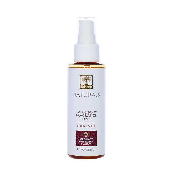 Body Mist Bioselect Naturals Αρωματικό Body Mist για Μαλλιά & Σώμα Orient Spell