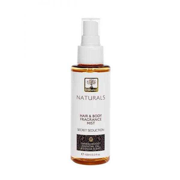 Body Mist Bioselect Naturals Αρωματικό Body Mist για Μαλλιά & Σώμα Secret Seduction