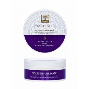 Hair Care Bioselect Naturals Hair Mask Resculpting & Shine Glowing Rituals