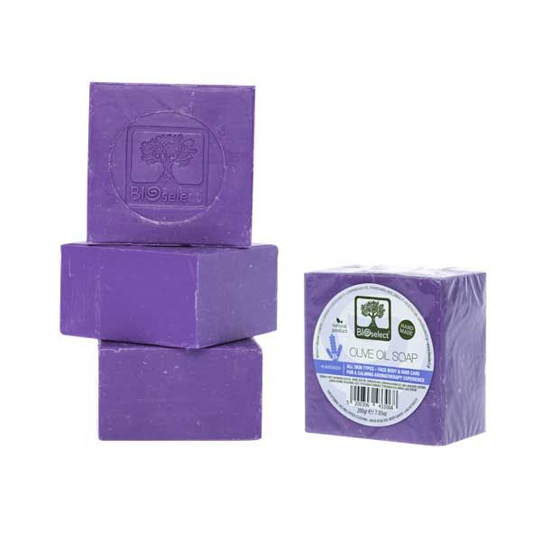 Hand Made Soap Bioselect Naturals Handmade Lavender Olive Oil Soap