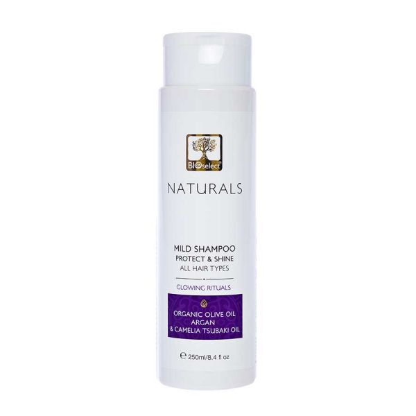 Hair Care Bioselect Naturals Mild Shampoo-Protect and Shine- Glowing Velvet