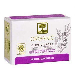 Anti-Cellulite Bioselect Organic Olive Oil Soap Spring Lavender