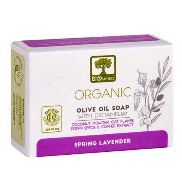Αντικυτταριδικά Bioselect Αγνό Σαπούνι Ελαιολάδου Spring Lavender