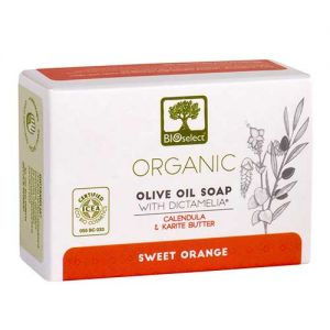 Babies & Kids Care Bioselect Organic Olive Oil Soap Sweet Orange