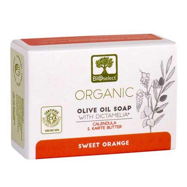 Σαμπουάν Μαλλιών & Σώματος Bioselect Αγνό Σαπούνι Ελαιολάδου Sweet Orange