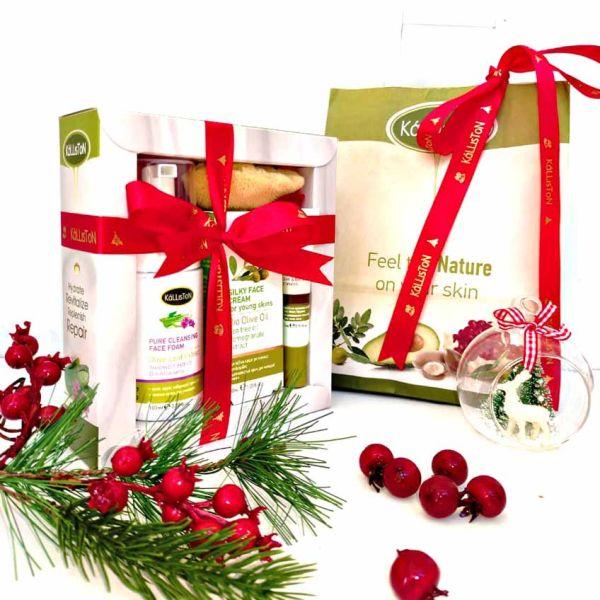 Anti-Acne Care Kalliston Silky Face Cream for Young Skin- Gift Set