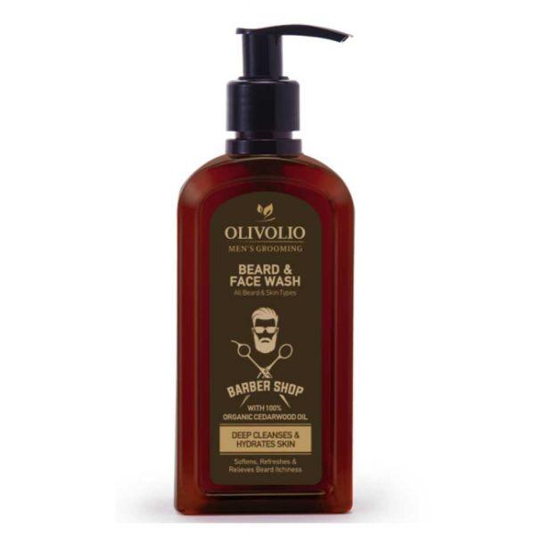 Beard & Moustache Olivolio Beard & Face Wash