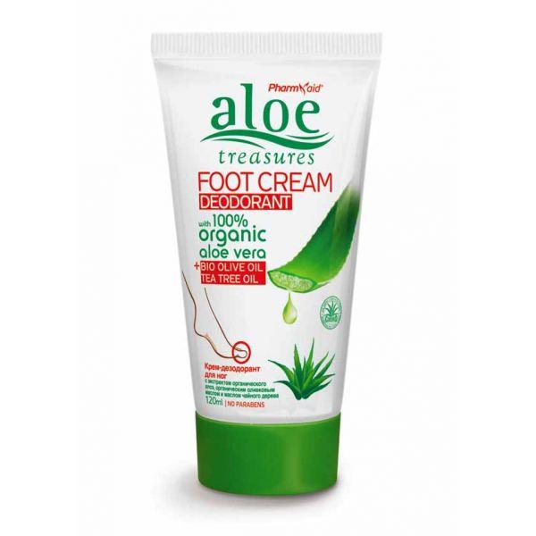 Foot Deodorant Aloe Treasures Foot Cream Deodorant Tea Tree