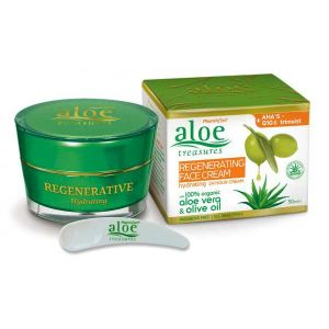 Face Care Aloe Treasures Regenerating Face Cream Hydrating 24Hours