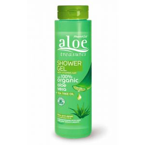 Body Care Aloe Treasures Shower Gel Tea Tree Oil