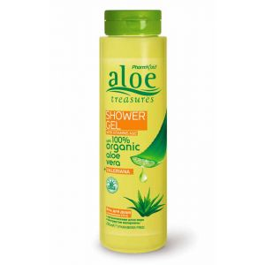Body Care Aloe Treasures Shower Gel Valeriana
