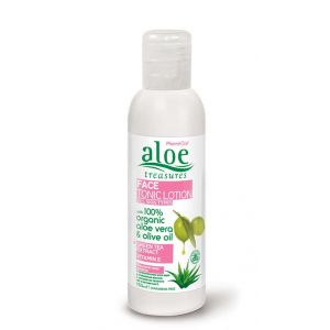 Face Care Aloe Treasures Face Tonic Lotion Green Tea