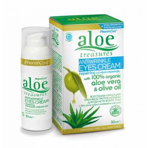 Eye Care Aloe Treasures Anti Wrinkle Eyes Cream Repairing