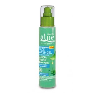 Exfoliators & Peels Aloe Treasures Exfoliating Face Wash Gel 2 in 1