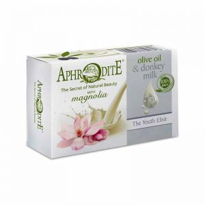 New Arrivals Aphrodite Olive Oil & Donkey Milk the Youth Elixir Soap Magnolia