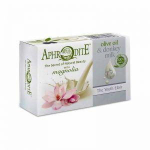 Νέες Αφίξεις Aphrodite Λάδι Ελιάς & Γάλα Γαϊδούρας Σαπούνι Μανόλια
