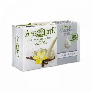 New Arrivals Aphrodite Olive Oil & Donkey Milk the Youth Elixir Soap Vanilla