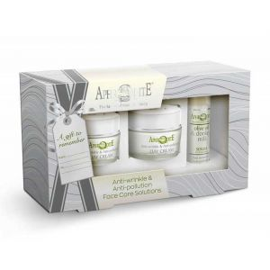 Anti-Wrinkle Cream Aphrodite Donkey Milk Face Care Anti-wrinkle & Antipollution Gift Set – Full Size