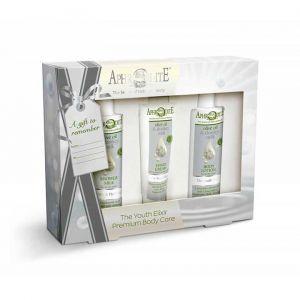 Body Care Aphrodite Donkey Milk Body Care Youth Elixir Gift Set – Full Size