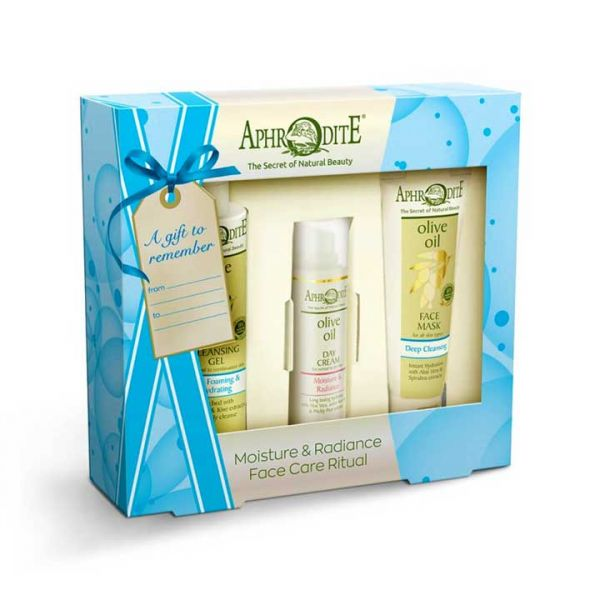 Face Care Aphrodite Face Care Moisture & Radiance Gift Set – Full Size